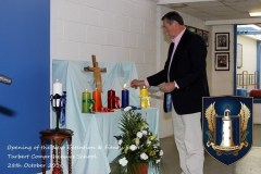 Blessing of New Extension and Gym Suite
