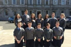 Student Council attend Dail Eireann