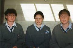 Gaelic Football Girls - Elaine Hayes, Cara Scannell, Marie Reidy