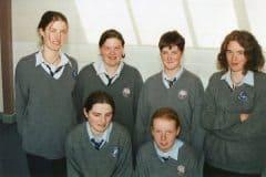Girls Basketball - Anne O'Connor, Patricia O'Hanlon, Therese Hartnett, Niamh Shanhan, Yvonne Fitzgerald, Ciara Neville